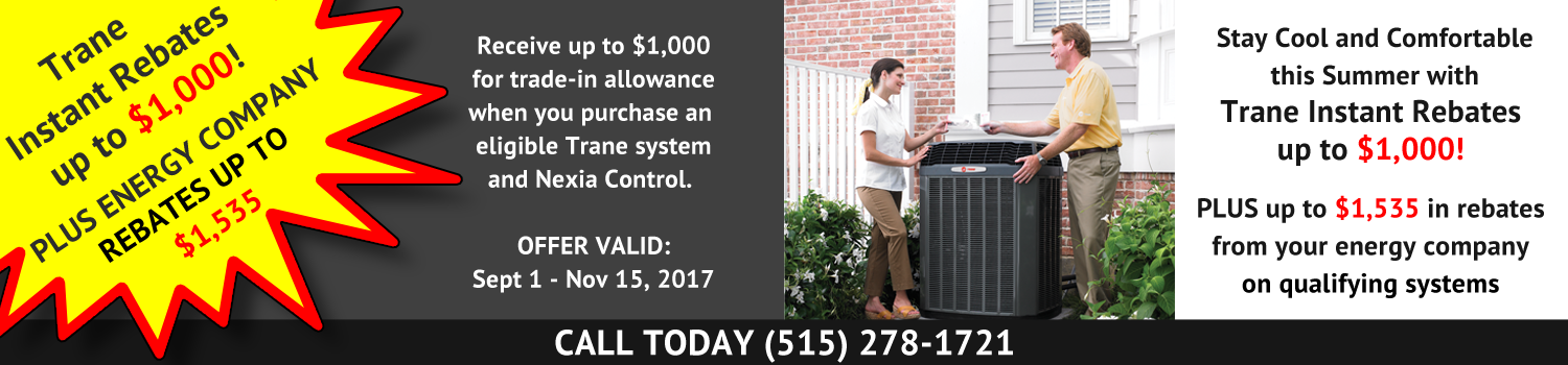 Dayton Heating and Air Conditioning Rebate Offers/Specials